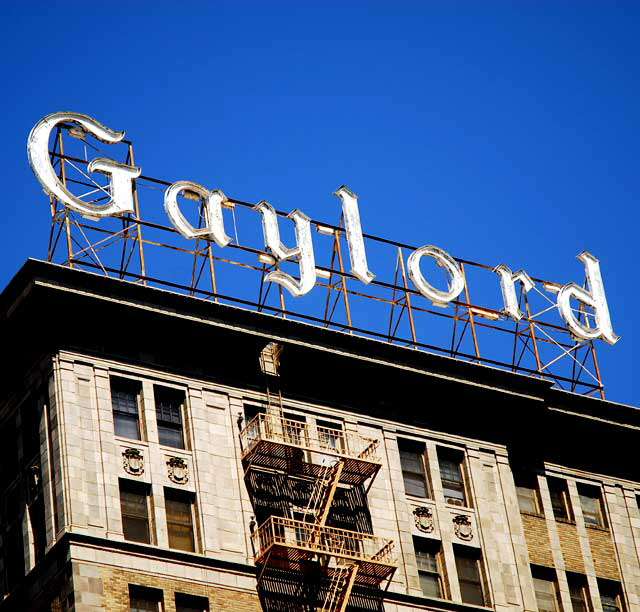 The Gaylord Apartments, 3355 Wilshire Boulevard, Los Angeles   1924,  Architects, Walker