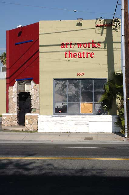 Hollywood Theater Scene, 12 January 2006