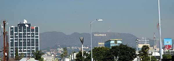 Hollywood Skyline 12 January 2006