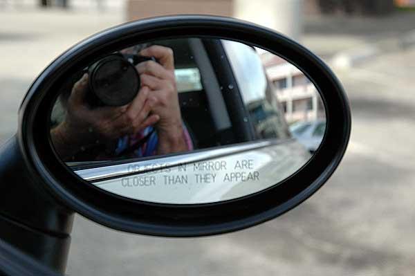 Min Cooper rearview mirror -