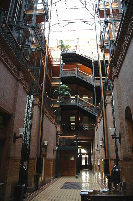 Bradbury Building, Los Angeles, 26 January 2006