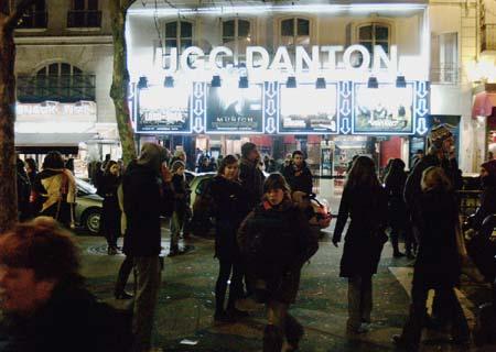 UGC Danton, Paris, January 2006