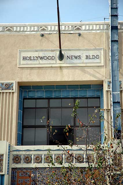 Hollywood News Building (1930) Wilcox Avenue