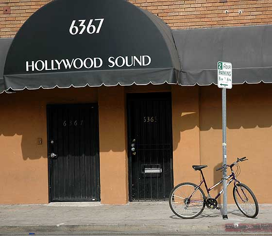 Hollywood Sound, Selma Avenue, Los Angeles