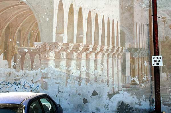 Old Venice Beach mural - 9 Feb 2006