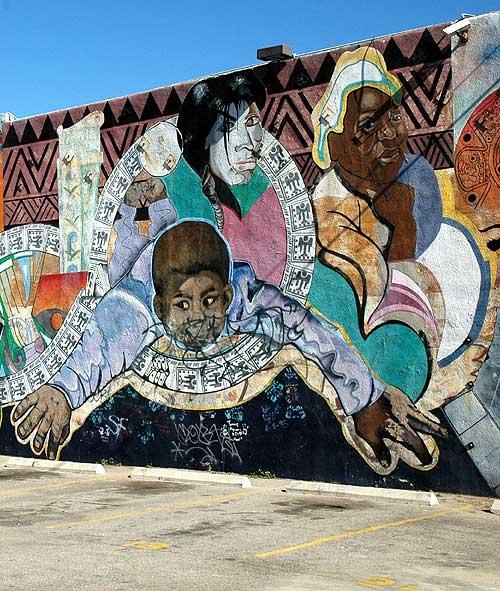 Newer Venice Beach murals - 9 Feb 2006