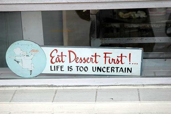 Westwood Village Donut Sign regarding dessert ...