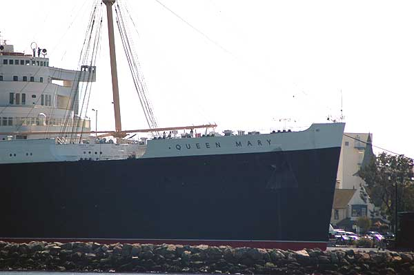 Old Queen Mary, Long Beach