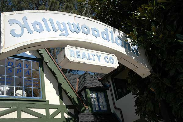 Hollywoodland Real Estate office (and Day Spa)