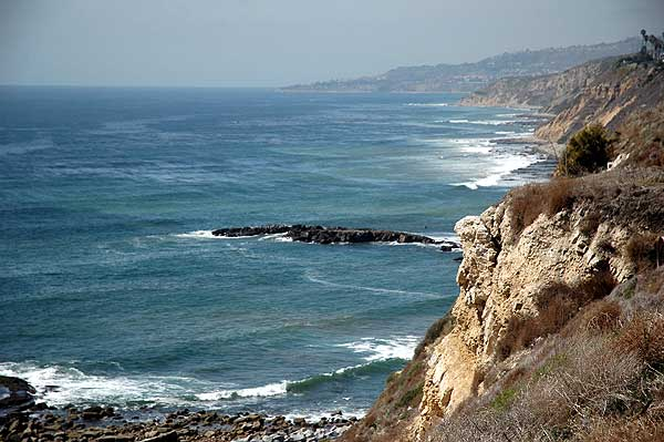 Rocky coast, San Pedro, California