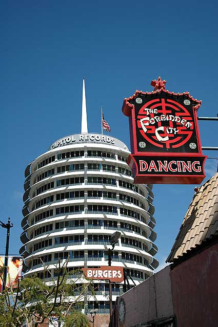 The Capitol Records Building. Hollywood