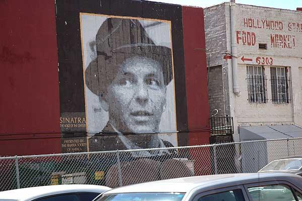 Frank Sinatra mural, Hollywood