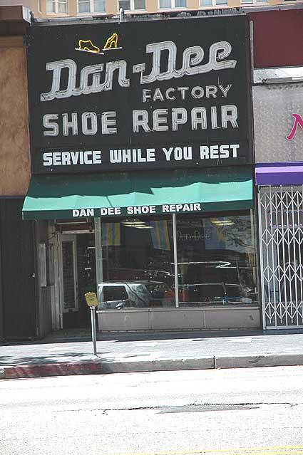 Dan-Dee Shoe Repair on Vine