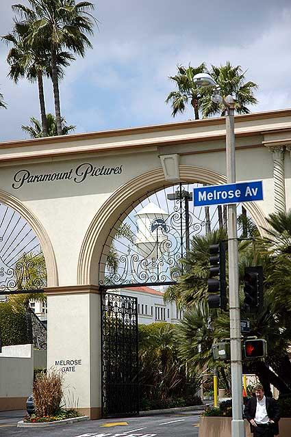 Paramount  Studios, Melrose Gate
