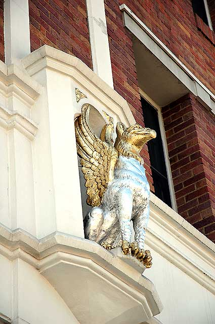 Griffins, Edmon Stone Galleries, Melrose Avenue