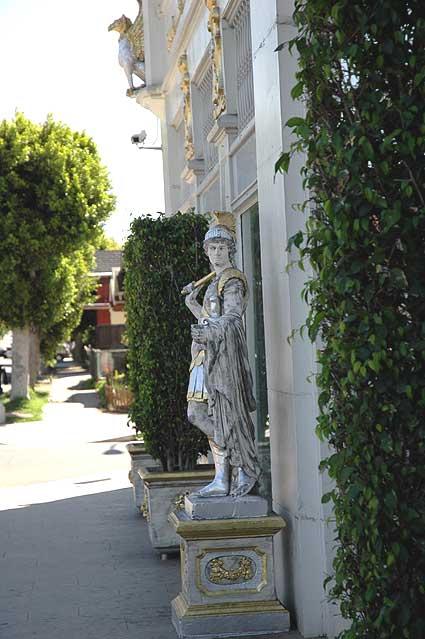 Statue, Edmon Stone Galleries, Melrose Avenue