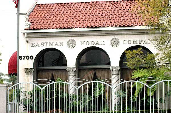 Eastman Kodak Corporation, Hollywood