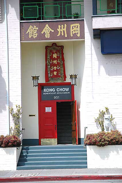Los Angeles' Chinatown, door