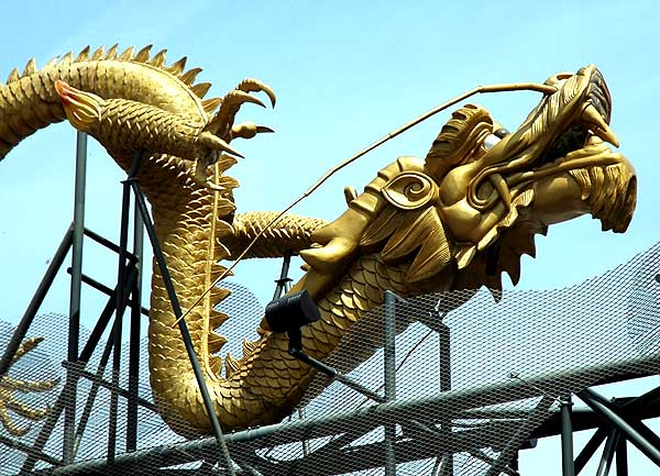 Los Angeles' Chinatown, The Dragons