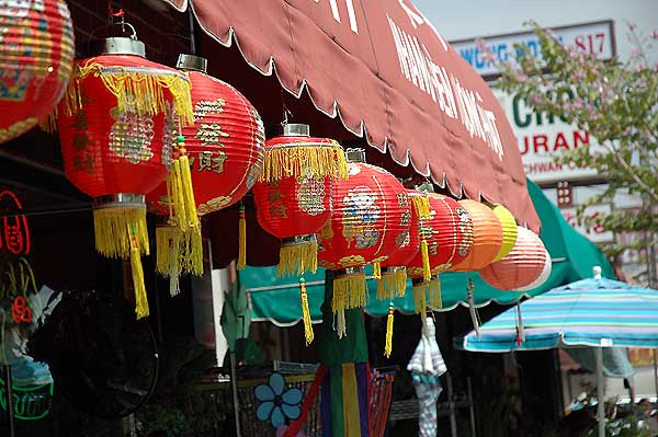 Lanterns - Los Angeles' Chinatown