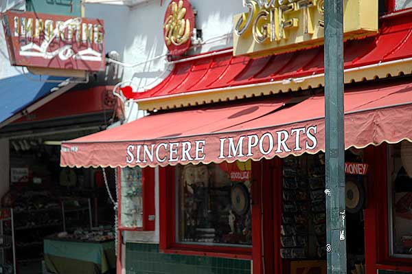 Sincere Imports - Los Angeles' Chinatown 