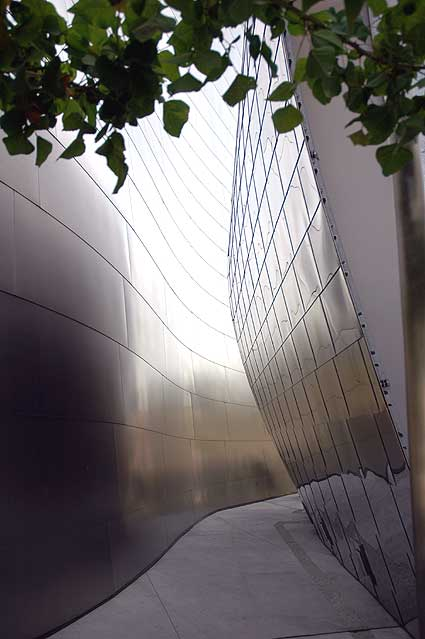 ... the Walt Disney Concert Hall Garden