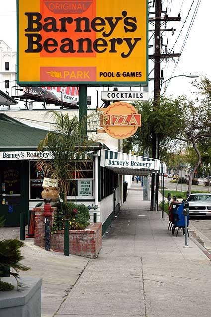 Barney's Beanery, 8447 Santa Monica Boulevard