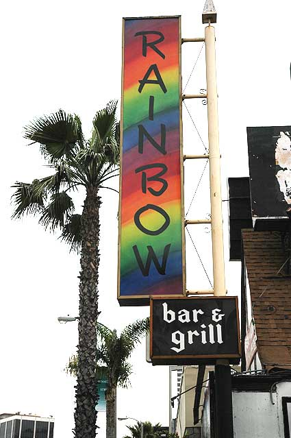 Rainbow Bar and Grill, Sunset Strip