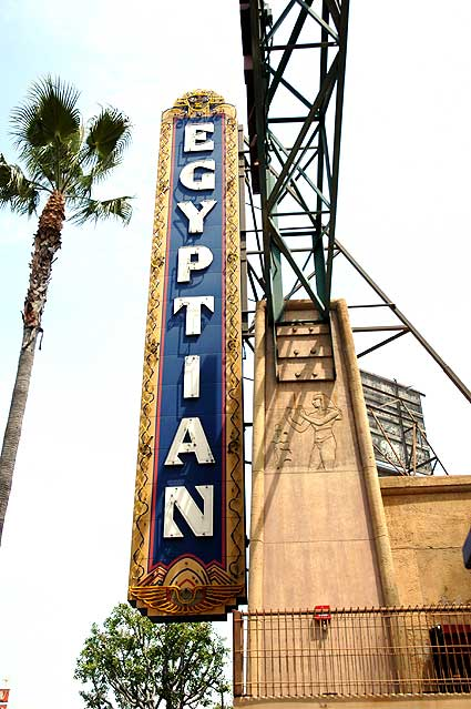 The Egyptian Theater, Hollywood Boulevard