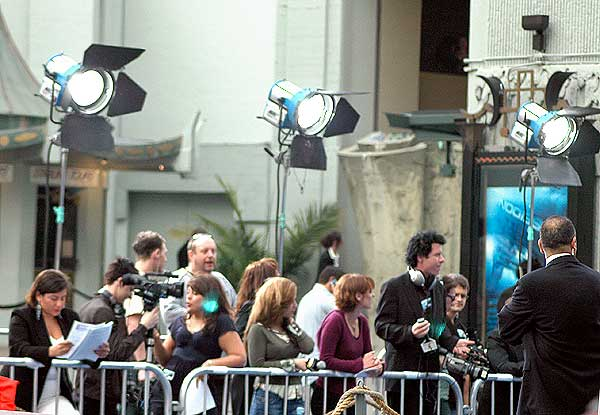 At the Los Angeles Premiere of POSEIDON ...