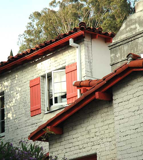 House above the Sunet Strip, West Hollywood