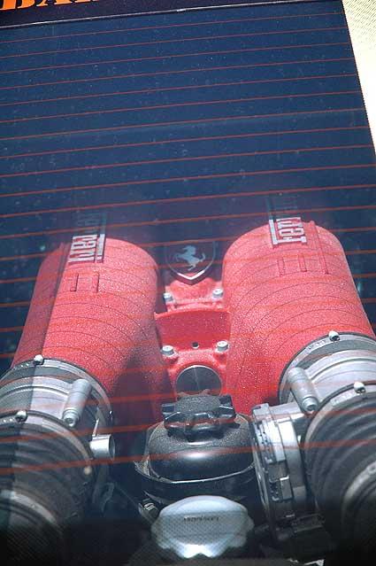 Ferrari F430 intake system -