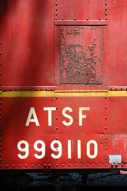 Atchison, Topeka & Santa Fe caboose