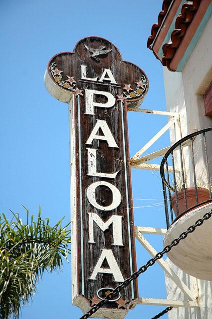 La Paloma Theatre, downtown Encinitas