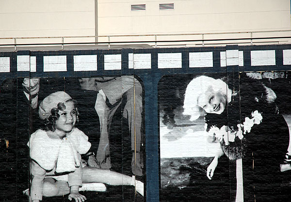 Shirley Temple, Jean Harlow leaving their mark...