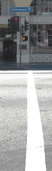 Hollywood Boulevard at Orange
