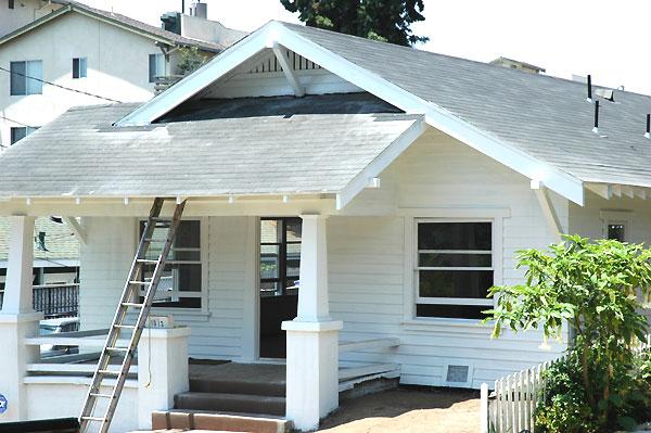 Craftsman cottage, West Hollywood