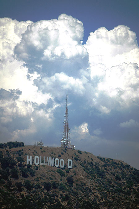 Clouds over Hollywood...