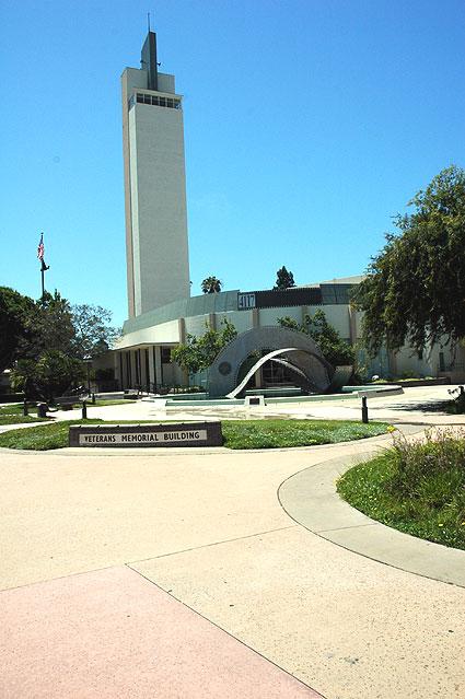 Veterans Memorial Building. Culver City