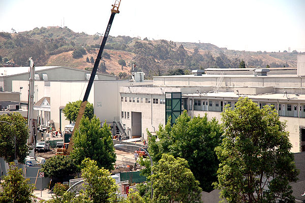 The working end of Culver Studios -