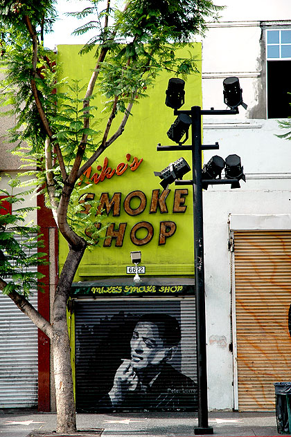 Hollywood Smoke Shop - Peter Lorre