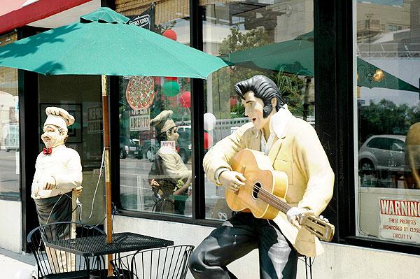Fake Elvis, Highland Avenue, Hollywood