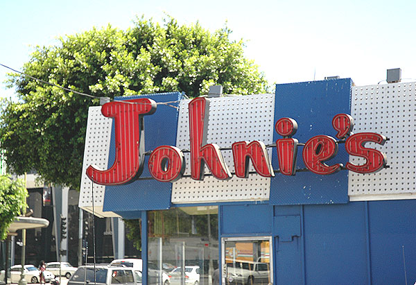 Johnie's, Wilshire and Fairfax, Los Angeles