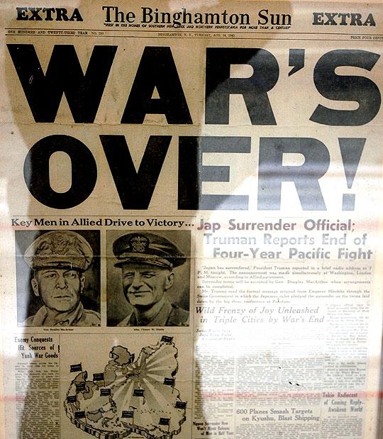 Japan Surrenders!