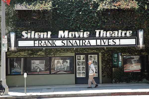 The Silent Movie Theatre and Frank Sinatra (not)