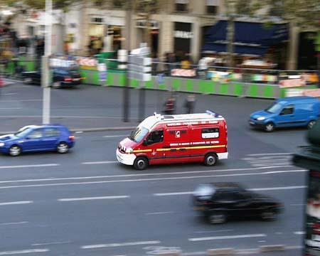 Paris - Saturday, November 12 - Fire Truck