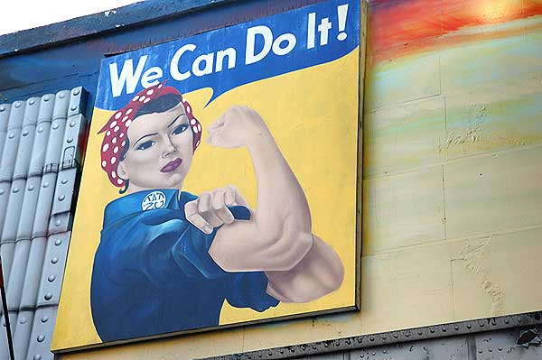 Rosie the Riveter, Hollywood - November 19, 2005