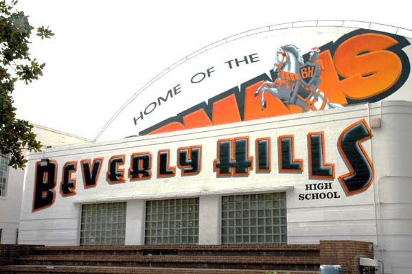 Beverly Hills High School, December 2005