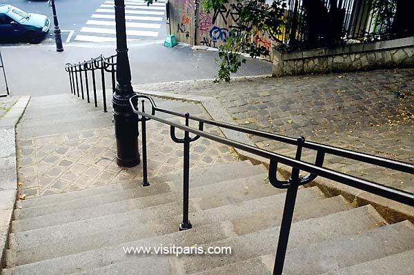 Paris railing...