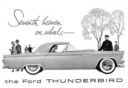 Promotional material from 1955 -
